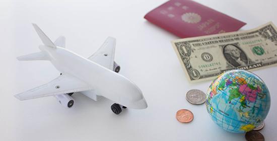 現金盗難補償のついた海外旅行保険
